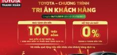 Bảng Giá Xe Toyota Mới Nhất Tháng 2 Năm 2020 Khuyến Mại Lớn Hơn 150 Triệu