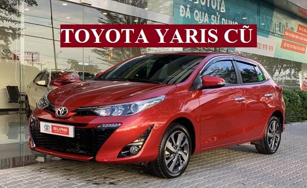Toyota Yaris Cũ Qua Sử Dụng
