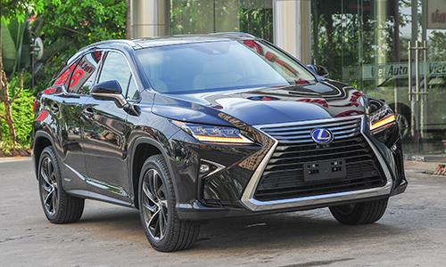 Lexus RX 450h 2017 - hybrid hạng sang cho đại gia Việt Nam,Giá Hấp Dẫn