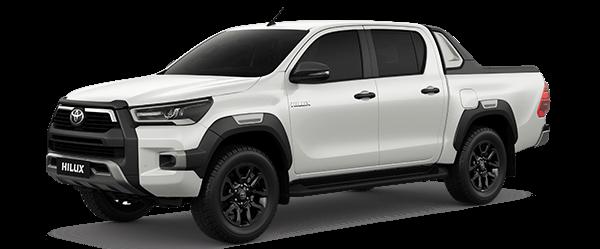 Toyota Hilux 2.4AT 2021màu trắng ngọc trai (070)
