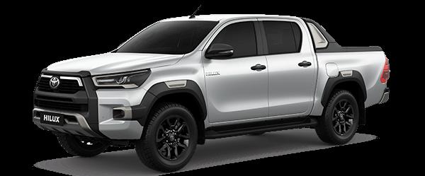 Toyota Hilux 2.8AT màu bạc (1D6)