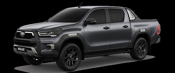 Toyota Hilux 2.4AT 2021màu ghi xám (1G3)