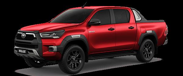 Toyota Hilux 2.4AT 2021màu đỏ (3T6)