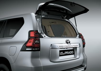 kính hậu xe toyota Prado 2021
