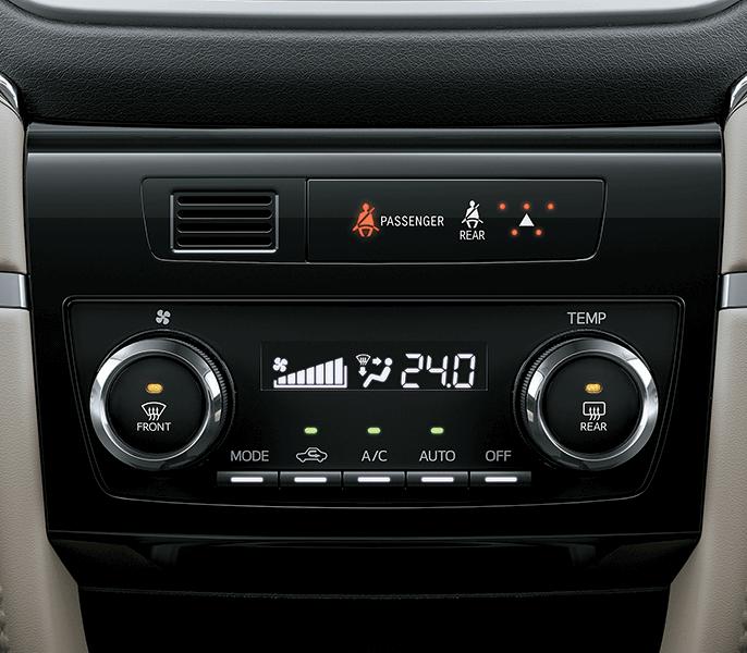 Rush S 1.5AT Hệ thống điều hòa