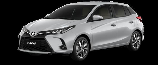 Toyota Yaris màu bạc 2021(1D4)
