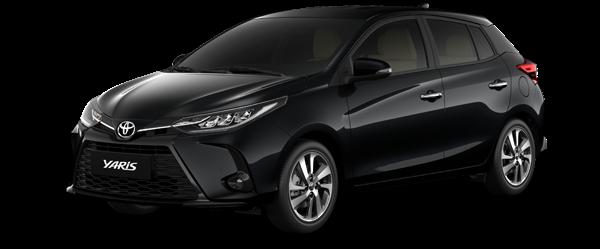 Toyota Yaris màu đen 2021(218)