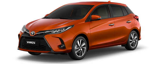 Toyota Yaris màu cam 2021(4R8)