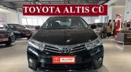 Toyota Corolla Altis Cũ Sử Dụng